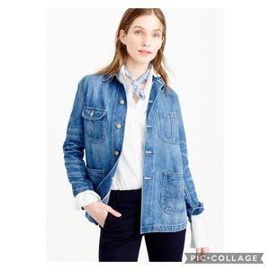 J. Crew Point Sur Denim Workwear Jacket